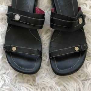 Cole Haan Shoes - • Cole Haan • Nike Ankle Slip On Sandals Black 9